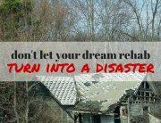 Turn Rehab into Disaster - Paces Funding Atlanta Hard Money