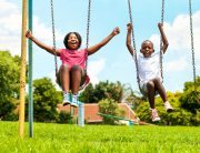 leave playground equpiment at investment property - atl hard money