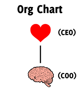 org chart head heart ceo coo 400