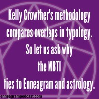 Kelly Crowther's methodology Compares overlaps in typology. So let us ask why The MBTI Ties to Enneagram and astrology.