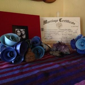 1 wedding altar