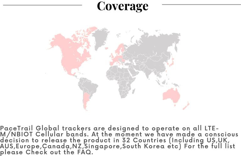 Pacetrail Cellular Coverage