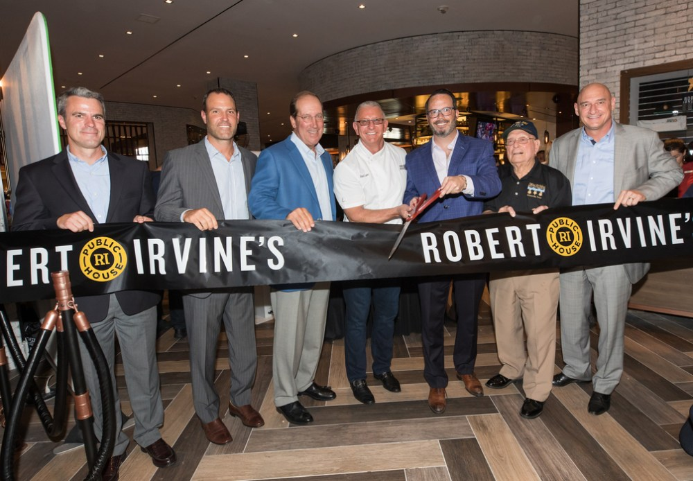 Chef Robert Irvine Launches New Restaurant In Tropicana Pace Vegas