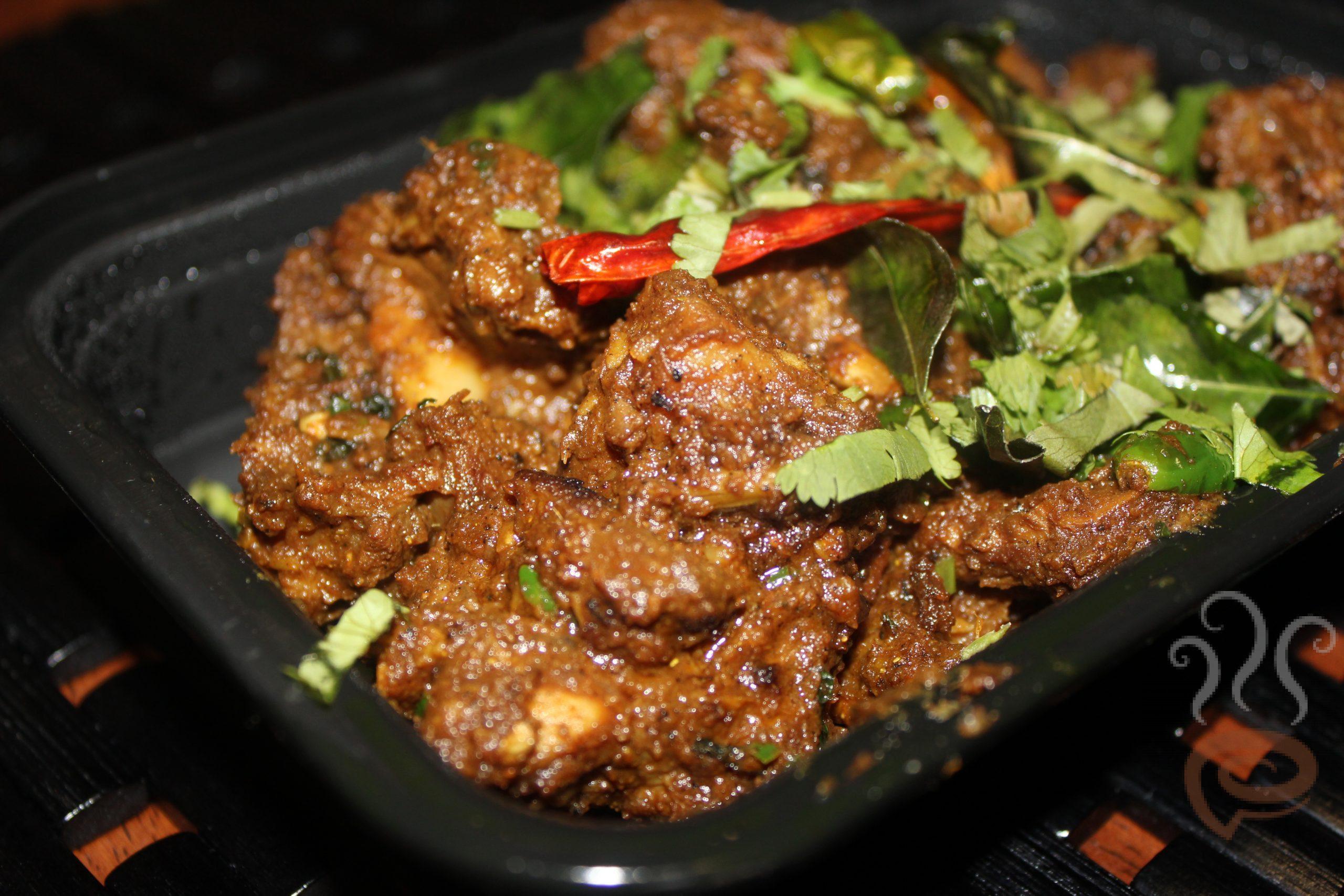 Chettinad Mutton Pepper Fry | Chettinad Mutton Sukka
