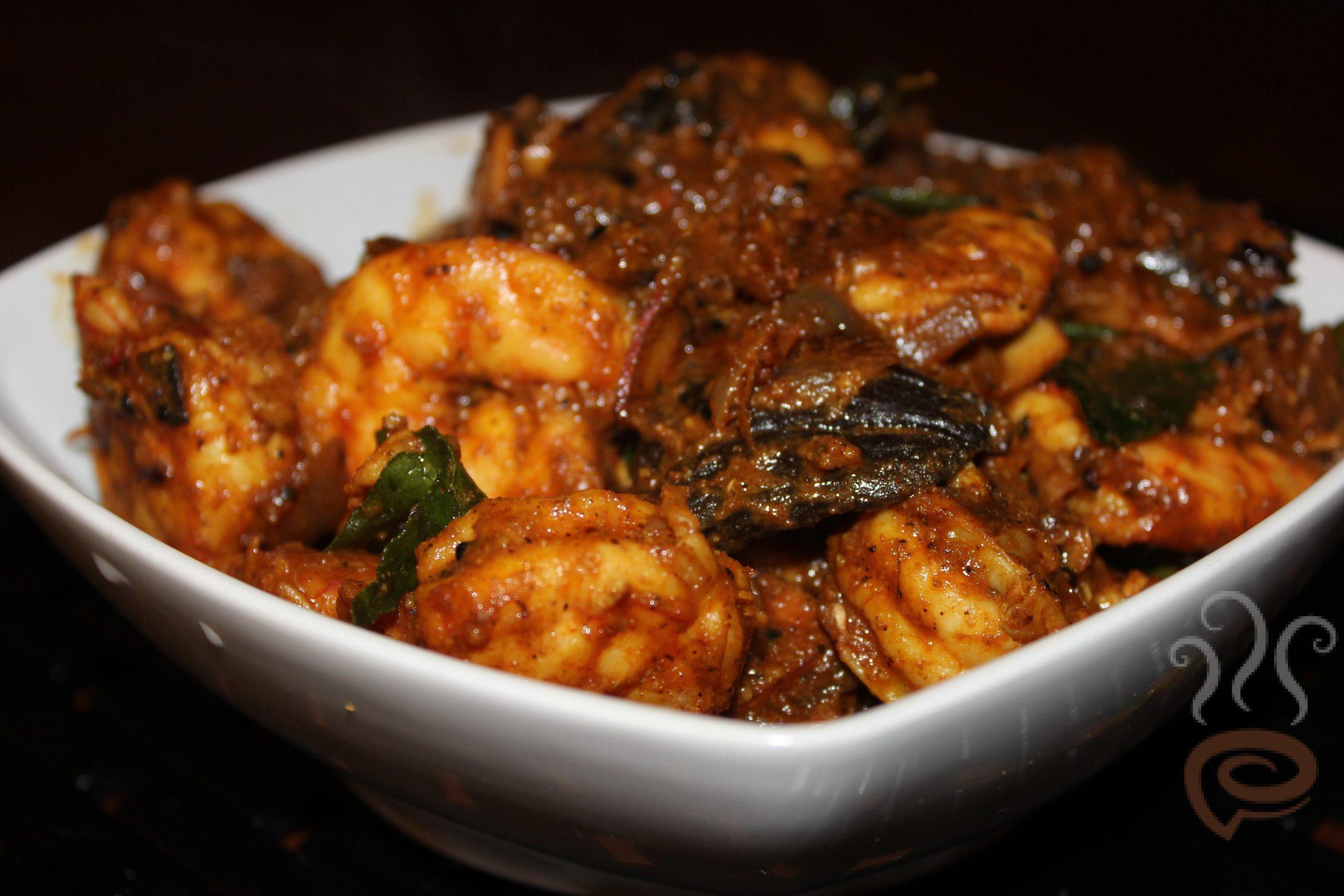Kerala Prawns Dry Roast