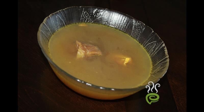Tasty Traditional Mutton Soup