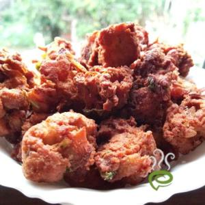 chicken bread pakoda