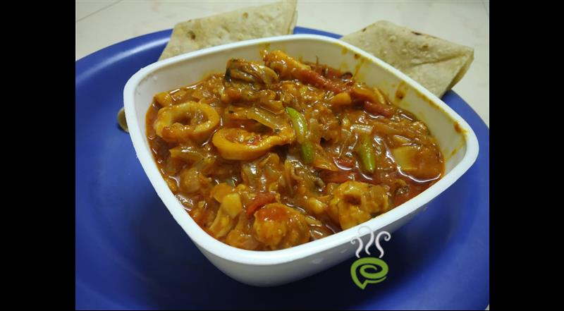 Malabar Squid Curry-Nadan Koonthal Curry