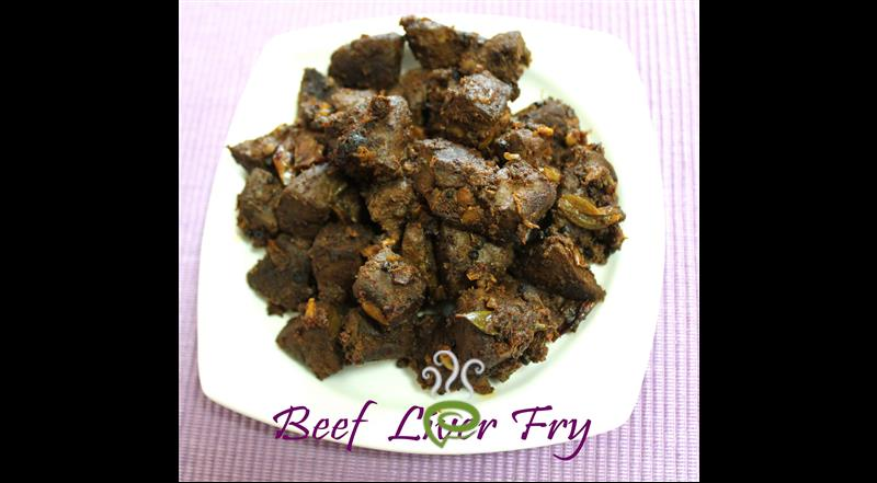 Beef Liver Fry