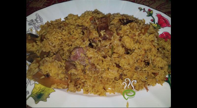 Cooker Beef Biryani