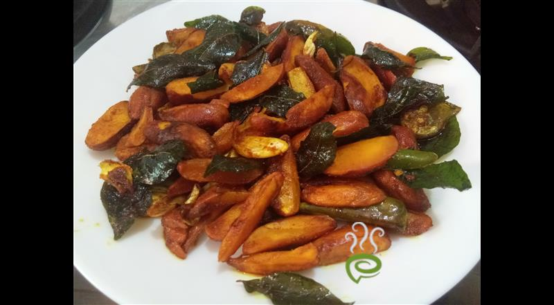 Spicy Jackfruit Seed Fry
