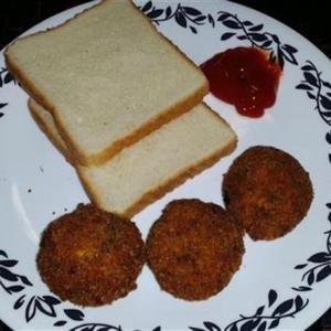 tasty bread cutlet