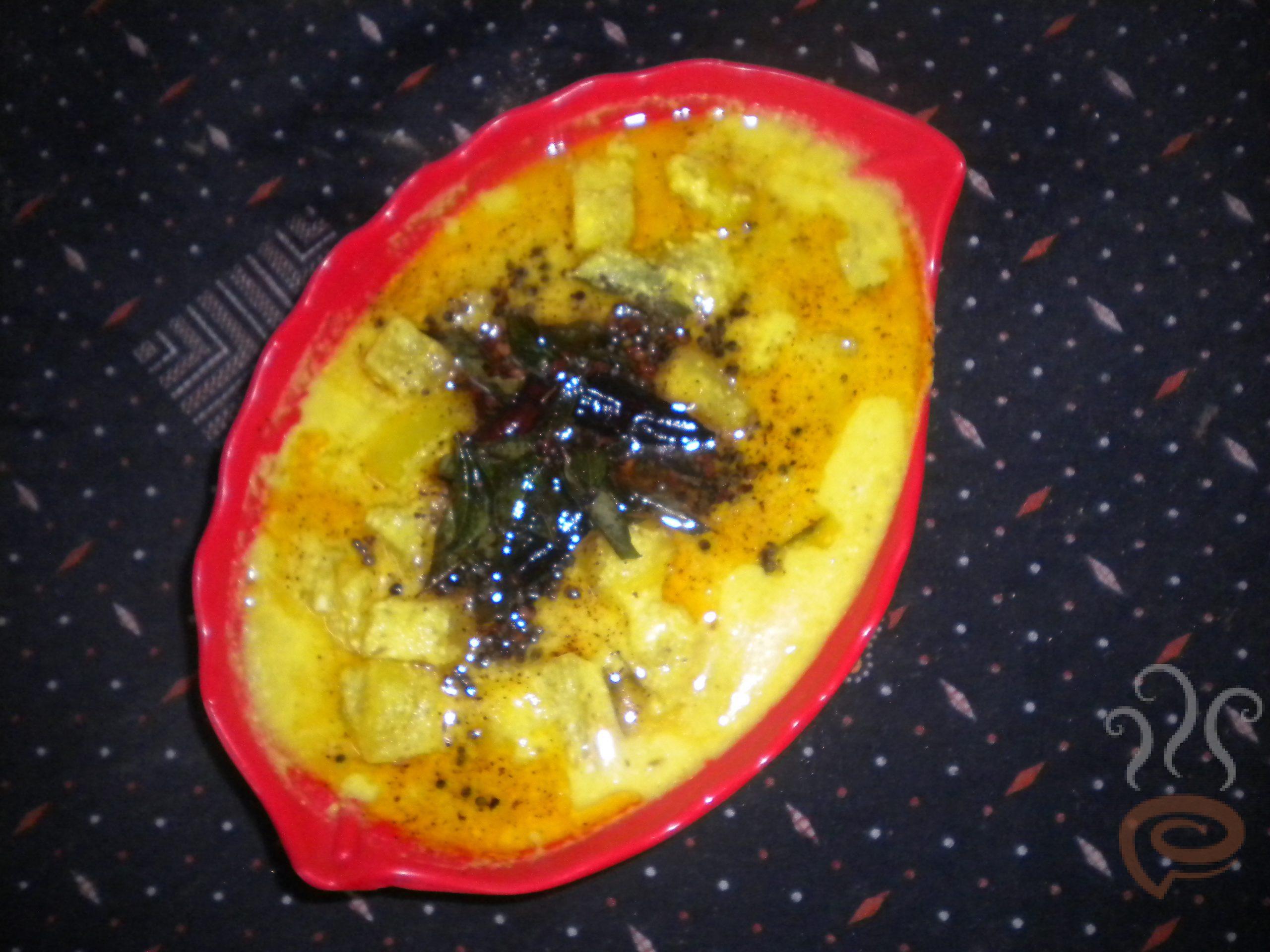 Moru Curry with Kumbalanga