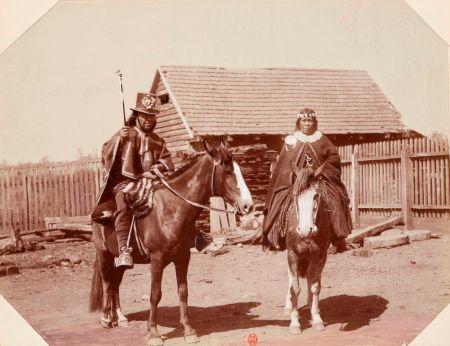 Les Gauchos, Mapuches