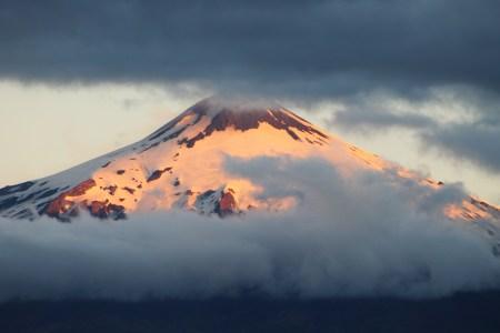 Volcan de Sud Amérique