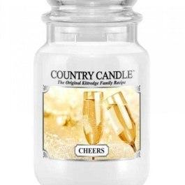 Country Candle CHEERS Duża Świeca Zapachowa 652g