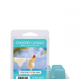 COUNTRY CANDLE Coconut Colada Wosk zapachowy 64g