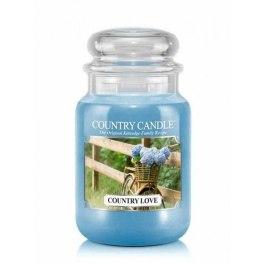 Country Candle COUNTRY LOVE Duża Świeca Zapachowa 652g