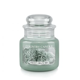 COUNTRY CANDLE Frosty Branches Mały słoik 104g