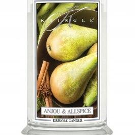 Kringle Candle ANJOU & ALLSPICE Duża Świeca 623g