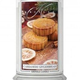 KRINGLE CANDLE Cardamom Gingerbread Duża Świeca 623g