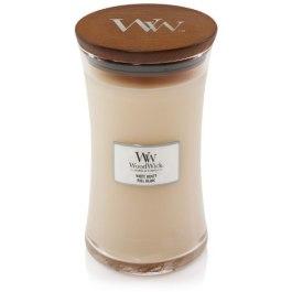WoodWick WHITE HONEY Duża Świeca Zapachowa 609,5 g