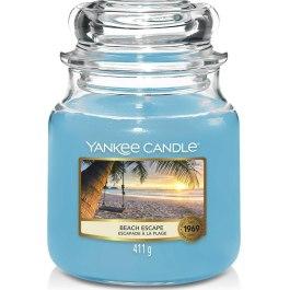Yankee Candle BEACH ESCAPE Średnia Świeca 411g