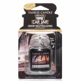 Yankee Candle BLACK COCONUT Zawieszka do auta
