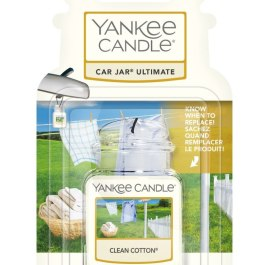 Yankee Candle CLEAN COTTON Zawieszka do auta