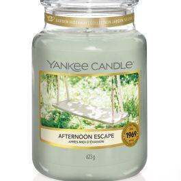 Yankee Candle AFTERNOON ESCAPE Duża Świeca Zapachowa 623g