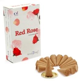 Kadzidełka Stożkowe – Czerwona Róża