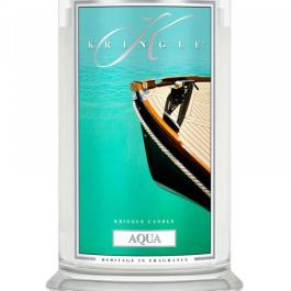 KRINGLE CANDLE Aqua Duża Świeca 623g