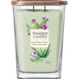 Yankee Candle CACTUS FLOWER AND AGAVE Duża Świeca Zapachowa Elevation 553g