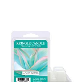 Kringle Candle AGAVE PASTEL Wosk zapachowy 64g