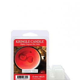 Kringle Candle  Cherry Chai  Wosk zapachowy 64g