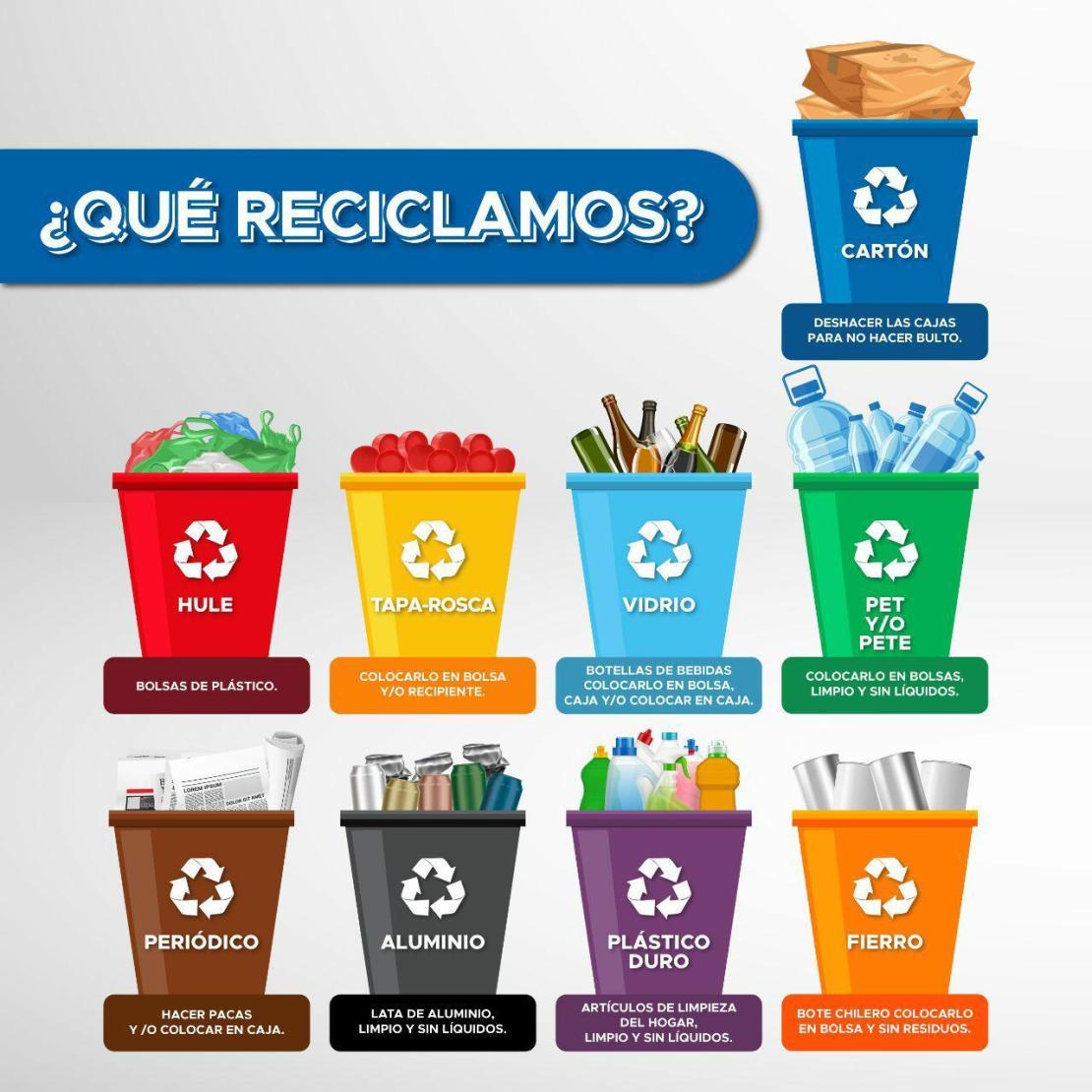 Instalará DIF Mineral de la Reforma contenedores de reciclaje para AMANC
