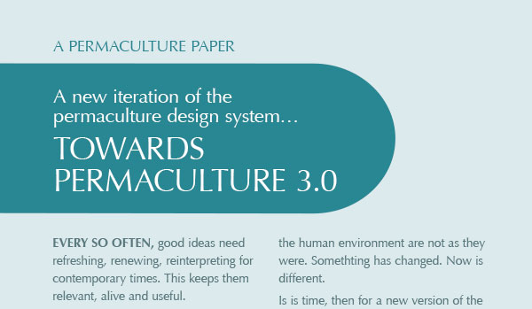 Towards Permaculture 3.0