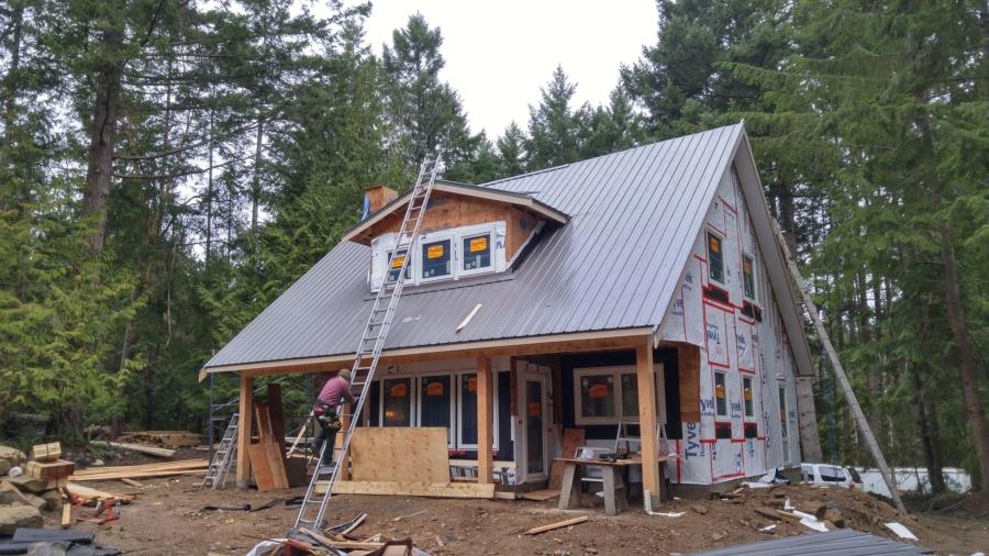 Progression On Our Galiano Island Home