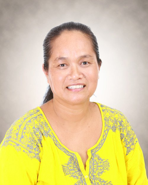 Portrait of Yoslyn Sigrah, women's right advocate in Micronesia