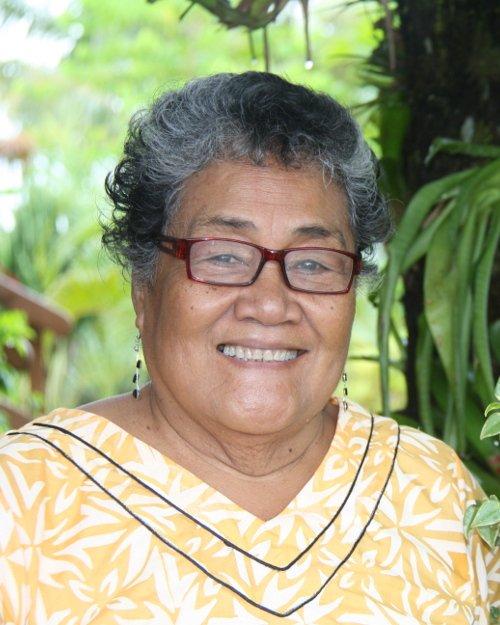 Mrs Afamasaga, influential teacher from Samoa