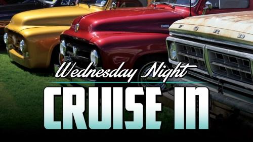 Wednesday Night Cruise In