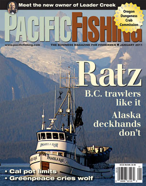 Bering sea the fishing blues for Pacific fishing magazine