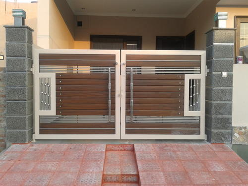 Driveway Gate Ideas | Modern & Contemporary on Gate Color Ideas  id=30857