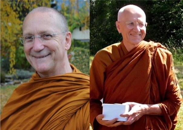 Luang Por Pasanno and Viradhammo