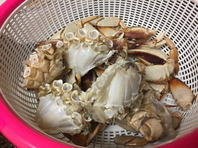 Cleaned Dungeness Crabs