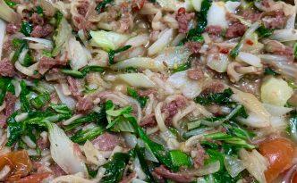 tin mutton chow mein chop suey