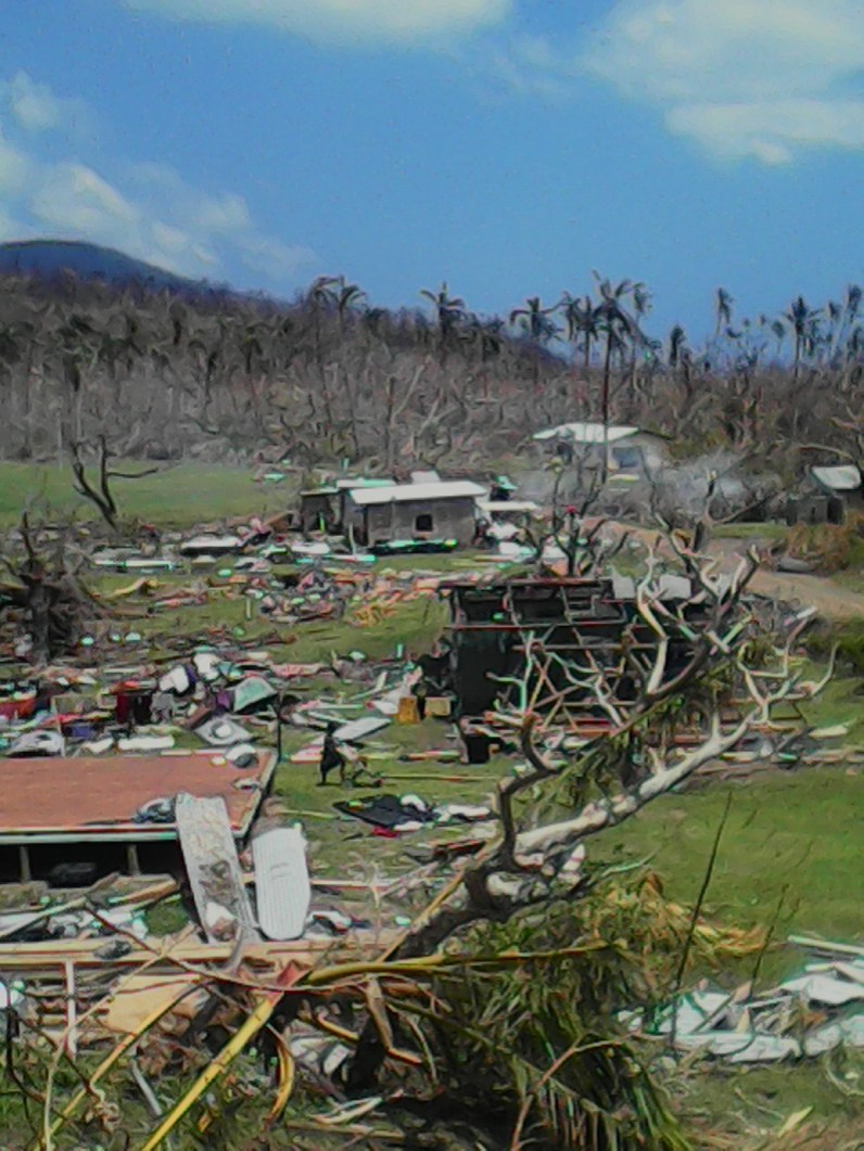 Nabasovi Village after TC Winston