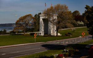 peach arch park us canada border