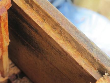 Brookfield FArm bee box - edge clean