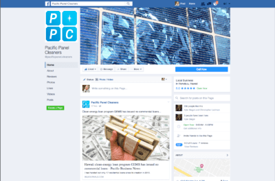 PPC Facebook Page